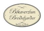 Logo Bókaverzlun Breiðafjarðar og heimasíða