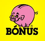 Logo Bónus og hlekkur á heimasíðu