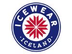 Logo Icewear og hlekkur á heimasíðu