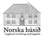 Logo Norska hússins og hlekkur á heimasíðu